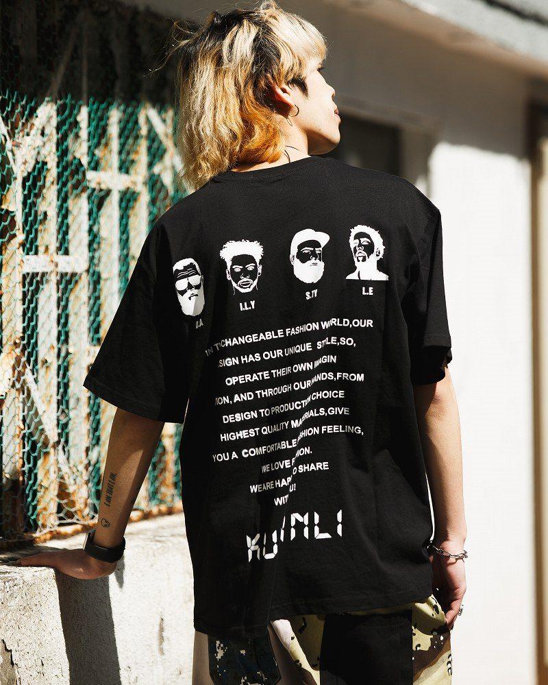 《2色》4guysTシャツの画像8